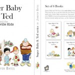 The Super Baby and Ted series book cover
