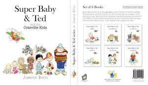 The Super Baby and Ted series book over